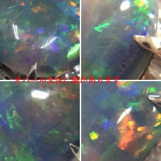 画像6: Pt900ブラックオパールリング O2.93 D0.96 #12 9.2g (6)